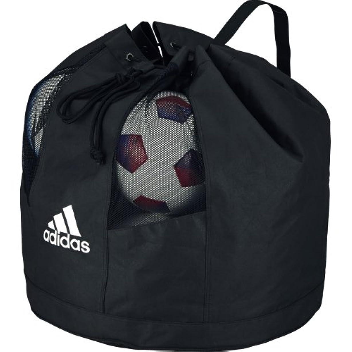 施し取得悪魔adidas(アディダス) ボールバッグ10個入れ AKN11BK 黒
