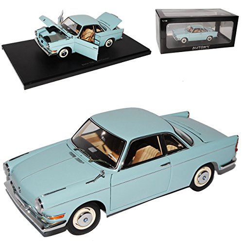 B-M-W 700 Sport Coupe Ceramic Blau 1959-1965 70653 1/18 AutoArt Modell Auto