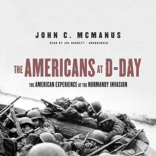 The Americans at D-Day audiobook cover art
