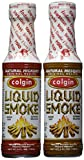Bundle - 2 Items: Colgin Gourmet Liquid Smoke - Natural Mesquite and Natural