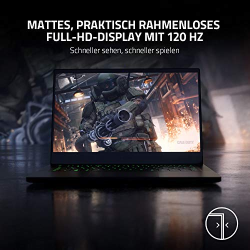 Razer Blade Stealth 13: Das 1. Gaming Ultrabook der Welt mit 13.3'' Full HD 120 Hz, Intel Core 7 11th Gen Tigerlake, NVIDIA GeForce GTX 1650 Ti, 16 GB RAM, Chroma RGB Beleuchtung | Qwertz DE-Layout