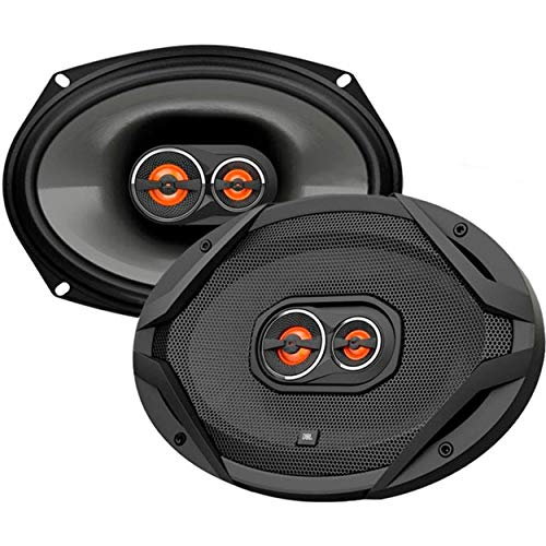 JBL GX963 300W 6' X 9' 3-Way GX Series Coaxial Car Loudspeakers (Pair of 2, 600W Total),black