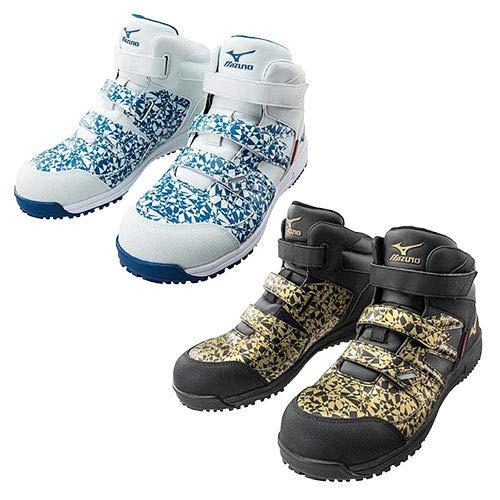 [ミズノ] 安全靴 作業靴 メンズ オールマイティBF23M Ltd F1GA1906 (25.5, 50:ゴールド×ブラック)