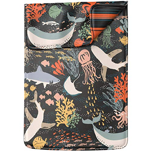 Lex Altern Laptop Sleeve Case for MacBook Air 13 Mac Pro 16 15 Retina HP Dell ASUS Acer Lenovo 11 12 14 17 inch 2020 Kawaii Ocean Cute Fish Whale Sea Shark Underwater Cover Protective Women Leather