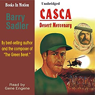 Casca Desert Mercenary: Casca Series #16 audiobook cover art