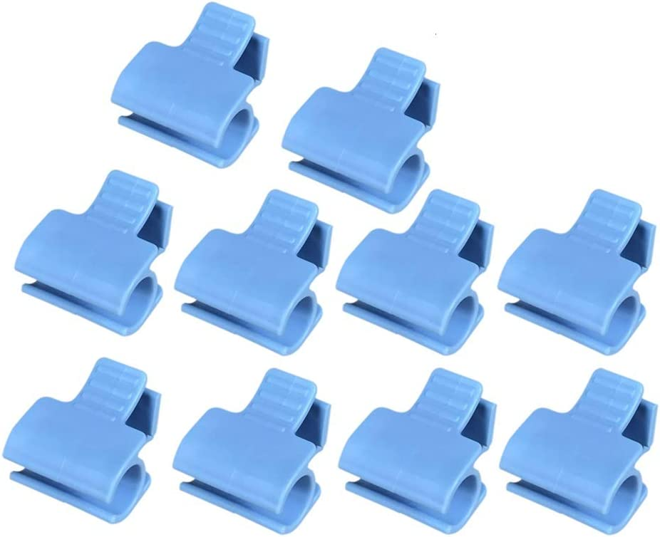 æ— 20Pcs Pipe Clamps Baltimore Mall Greenhouse Netting Row H Cover Ultra-Cheap Deals Film