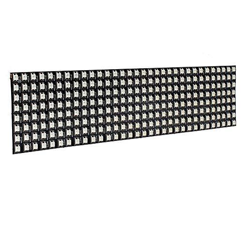 KEPUSHIYE DIY Electrónica Accesorios 8 * 32cm WS2812B 256 p