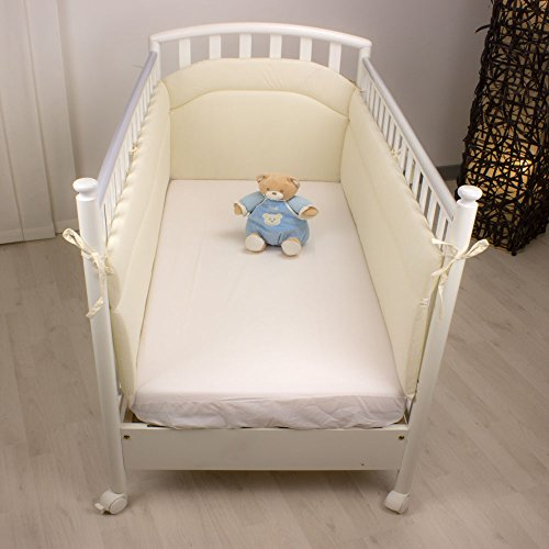 Babysanity paracolpi lettino lati lunghi (Beige)