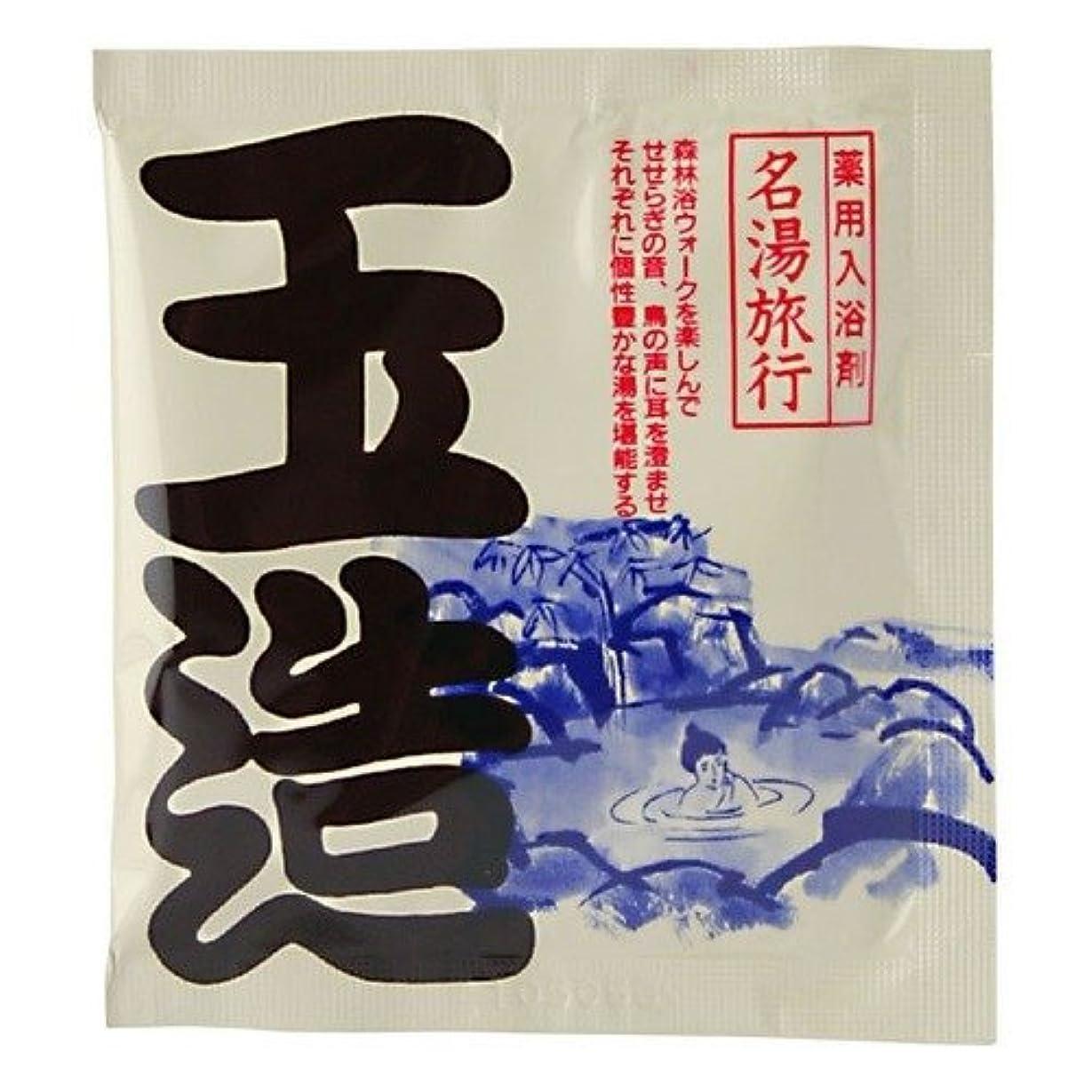 朝ごはんシェル風味五洲薬品 名湯旅行 玉造 25g 4987332126782