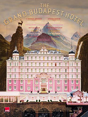 The Grand Budapest Hotel - Affiche de Film Originale - 40x53 cm - Roulée