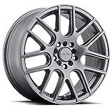 VIS-VIS 16' Inch Vision Wheel Rim 426 Cross 16X7 5x100 38mm Gunmetal