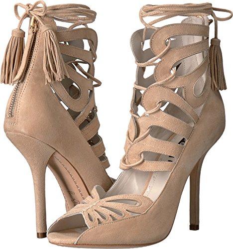 alice + olivia Women's Natalie Beige Suede Sandals