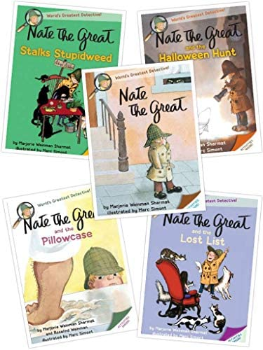Nate the Great Series Nate the Great and the Halloween Hunt Nate the Great and the Lost List product image