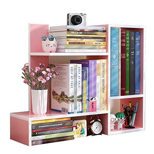 YANG HONG SHOP JL YH Estudio Multifuncional De Estantería De Casa MDF Creative Simple Mini Desktop 60x17x50CM A+ (Color : D)