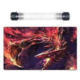 YuGiOh Red-Eyes Alternative Black Dragon Custom Trading Card Game Mat TCG Playmat Free Best Tube