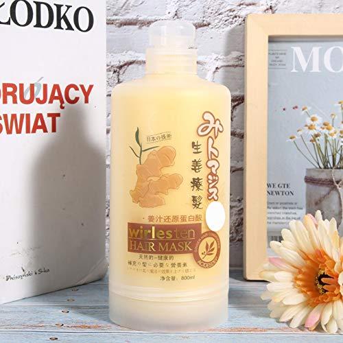 Acondicionador hidratante para el cabello, aceite esencial para el cuidado del cabello, acondicionador espesante del cabello de 800 ml para uso diario para la salud