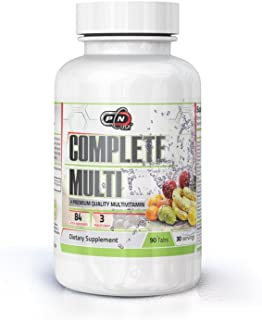 Pure Nutrition USA COMLETE Multi Premium Quality Multivitamins Minerals with Added Greens Super Fruits and Herbs