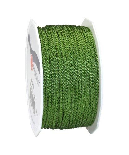 C.E. Pattberg GmbH & Co. kg - Nastro in Cordoncino Mosel, Altezza 2 mm, Lunghezza 50 m, Colore Verde