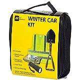 AA Set di accessori invernali per auto, con pala da neve pieghevole...