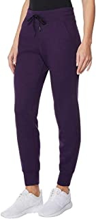 32 Degrees Ladies  Tech Fleece Jogger (Purple, XL)