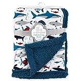 Cribmates Soft Plush Baby Blanket - Under The Sea