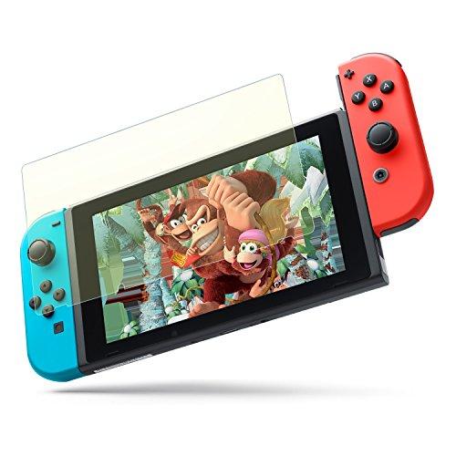 【 ブルーライトカット 】 Nimaso Nintendo Switch 用 強化ガラス液晶保護フィルム 【目を守る】 3D Touch対応/硬度9H