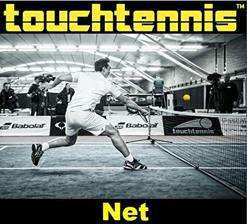 touchtennis Tennis Net for Driveway Backyard Portable 20 feet (6meters)
