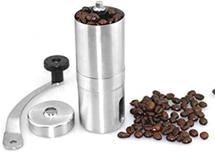 Coffee Grinder Portable Stainless Steel Manual Coffee Bean Grinder Handmade Grinder Manual Grinding Machine Coffee Home Kitchen Tool