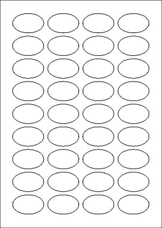 3.600 Stk. Endisch Vielzweck-Etiketten selbstklebend oval 40,6 x 25,4 mm weiß permanent klebend auf B&ou ;gen A4 (100 B&ou ;gen x 36 Etik.) B00QKUW66U    Ruf zuerst