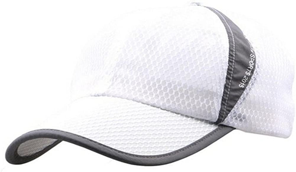 Our shop most popular Womens Mens Quick Drying Mesh Baseball Sun Cap Breathable Protec Dealing full price reduction