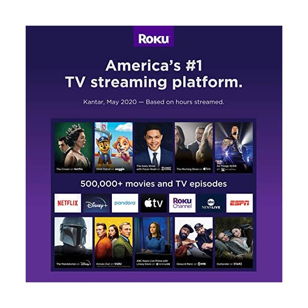 Roku Streaming Stick+ | HD/4K/HDR Streaming Device with Long-range Wireless and Voice Remote with TV Controls (Renewed)