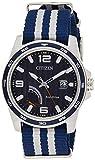 Citizen AW7038-04L Reloj para caballero 60925 Eco Drive, 42 mm, Azul/Gris
