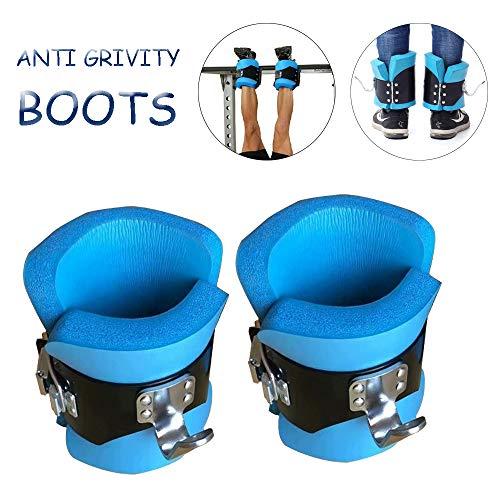 Anti Gravity Inversion Boots, Hang Up Inversion Gravity schoenen Krachtige voet gesp Anti Gravity enkellaarsjes Professionele roestvrijstalen haak hangende Pull Up Schoenen voor het verlichten