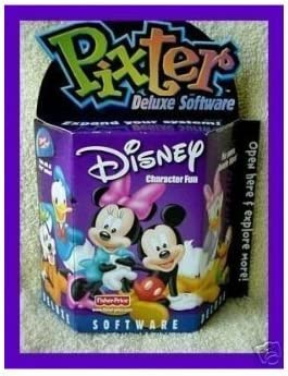 Pixter Deluxe Bargain Software Disney Fun Today's only Character