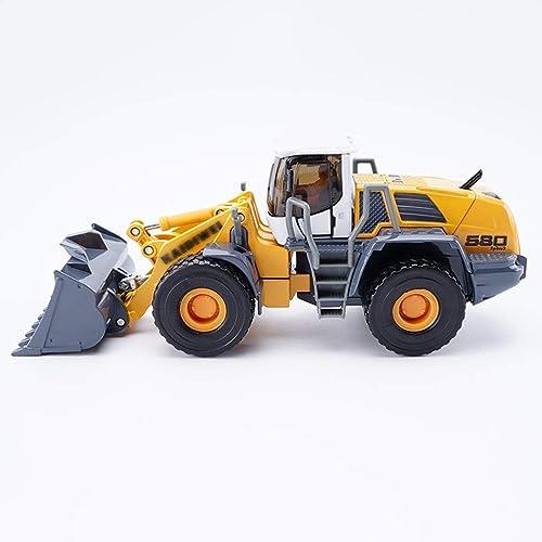 al precio mas bajo YaPin Model Car 1 50 50 50 Loader Engineering Vehículo Modelo Simulación Aleación Niño Niños Juguete Coche Metal Colección Regaño Decoración 19.5x6.5x7.5 CM Modelo de Coche  bienvenido a orden