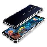 SCL Hülle Für Nokia 8.1 Handyhülle Nokia 8.1 Hülle Nokia 8.1, Hülle-Kristallklarer Anti-Kratzer Weiche TPU Coverhülle mit Eckenschutz, Ultra klar