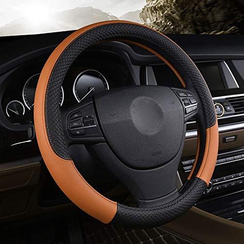 Auto Stuurhoes K-i-a K3 2013 K2 R-i-o 2015 2016 C-e-r-a-t-o 2013-2017 echt leer (Color : Brown, Size : Free)