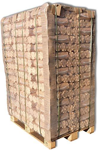 960kg Holzbriketts Nestro Holz Briketts Kamin Ofen Heiz Brikett Brennholz Heizbrikett 96 x 10kg / 960kg Palette Nestro Brikett Rund