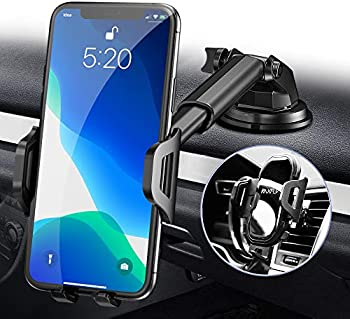 RAXFLY Windshield/Air Vent/Dashboard Cell Car Phone Holder