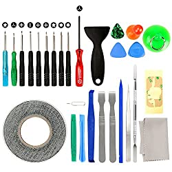 professional iPhone Repair Driver Kit with 27 in 1 sticker, remove adhesive screen …