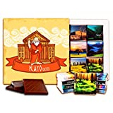 """DA CHOCOLATE キャンディ スーベニア """"プラトー"""" チョコレートセット 5×5一箱 (Art)"""