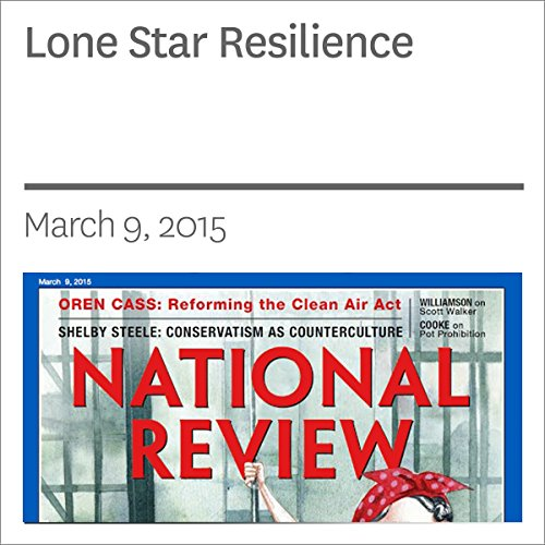 Lone Star Resilience audiobook cover art