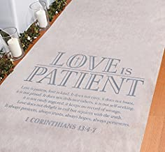 Fun Express Love is Patient Aisle Runner - Party Decor - 1 Piece