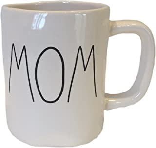 Rae Dunn Magenta Ceramic Coffee Mug Mom