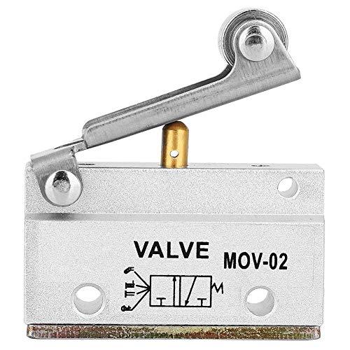 MOV-02 G1 / 8 Valvola pneumatica a leva pneumatica a rullini con valvola meccanica Valvole di controllo manuali 0-0,8 MPa