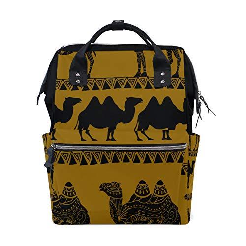 Starke Kamele Ungewöhnliche Boby Große Kapazität Wickeltaschen Mama Rucksack Multi Funktionen Windel Pflegetasche Tote Handtasche Für Kinder Babypflege Reise Täglichen Frauen