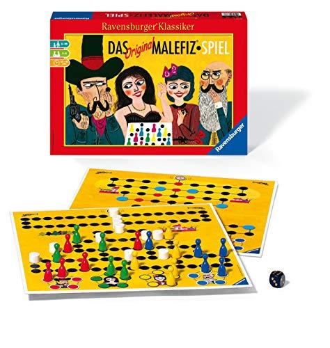 Ravensburger 26737 - Das Original Malefiz Spiel - Familienspiel für 2-4 Spieler, Ravensburger Klassiker ab 6 Jahren