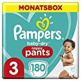 Pampers Baby-Dry Pants, Gr. 3, 6-11kg, Monatsbox, 1er Pack (1 x 24 Stück)
