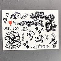 MARYSHARON 防水一時的な入れ墨のステッカー蝶の偽の入れ墨の入れ墨Tatooの足の腕の手および足の入れ墨の女の子の女性の女性
