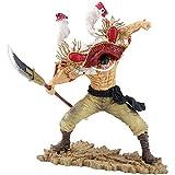 LCFF Figura Anime Figure One Pieza Figura de acción Edward Newgate Whitebeard 26 cm Figurine Colección Estatua Adornos Decoración Modelo Niños Juguetes Doll Regalo